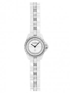 シャネル J12 XS H5238 ホワイトセラミック レディース ブレスダイヤモンド ホワイトダイアル・ダイヤモンド クォーツのイメージ